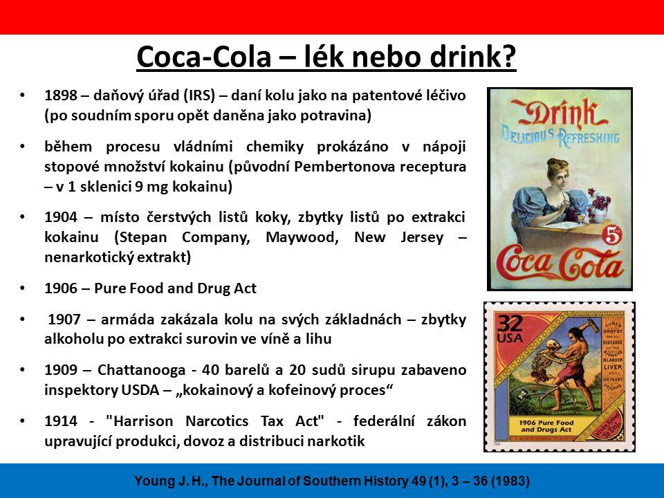 Coca-Cola – lék nebo drink.