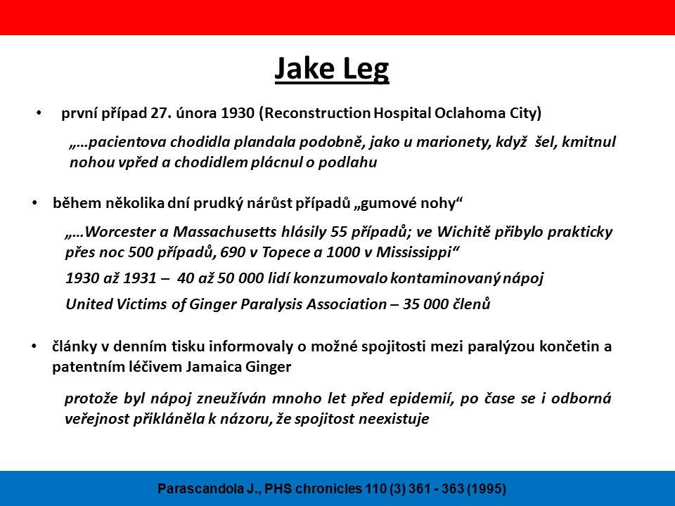 Jake Leg první případ 27.