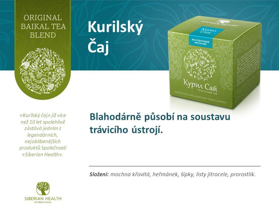 Kurilský Čaj Složení: mochna křovitá, heřmánek, šípky, listy jitrocele, prorostlík.