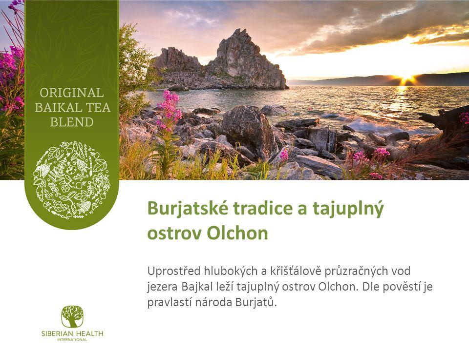 Burjatské tradice a tajuplný ostrov Olchon Uprostřed hlubokých a křišťálově průzračných vod jezera Bajkal leží tajuplný ostrov Olchon.