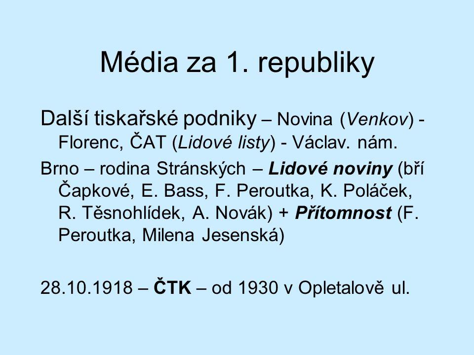 Média za 1.
