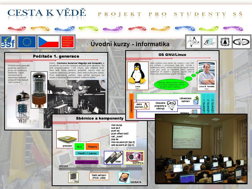 Úvodní kurzy - informatika