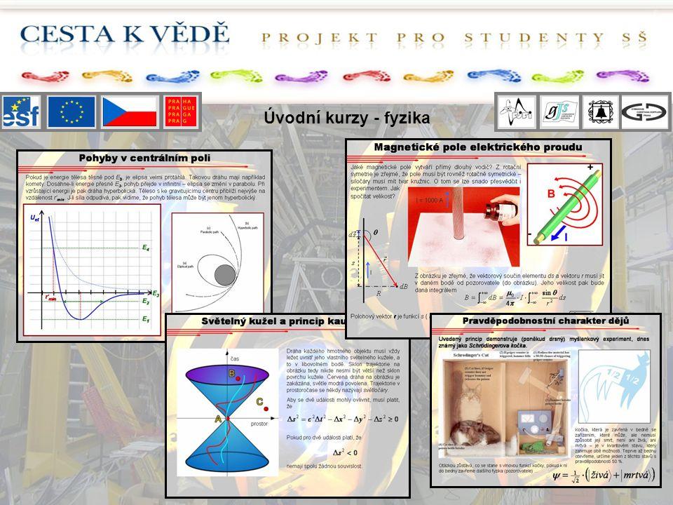 Úvodní kurzy - fyzika