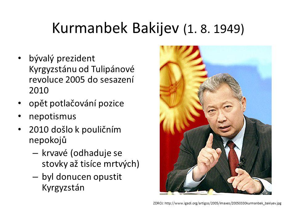 Kurmanbek Bakijev (1. 8.
