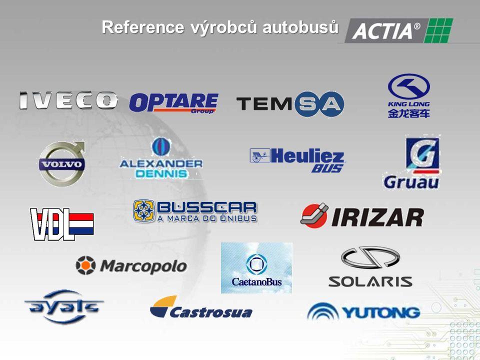 Reference výrobců autobusů Reference výrobců autobusů