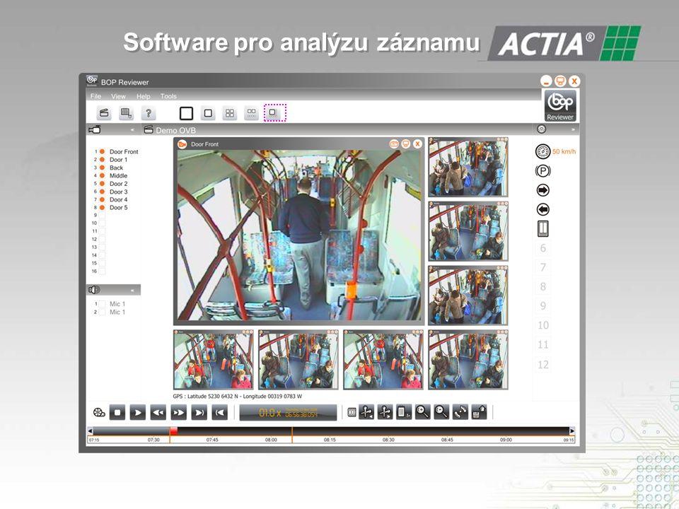 Software pro analýzu záznamu