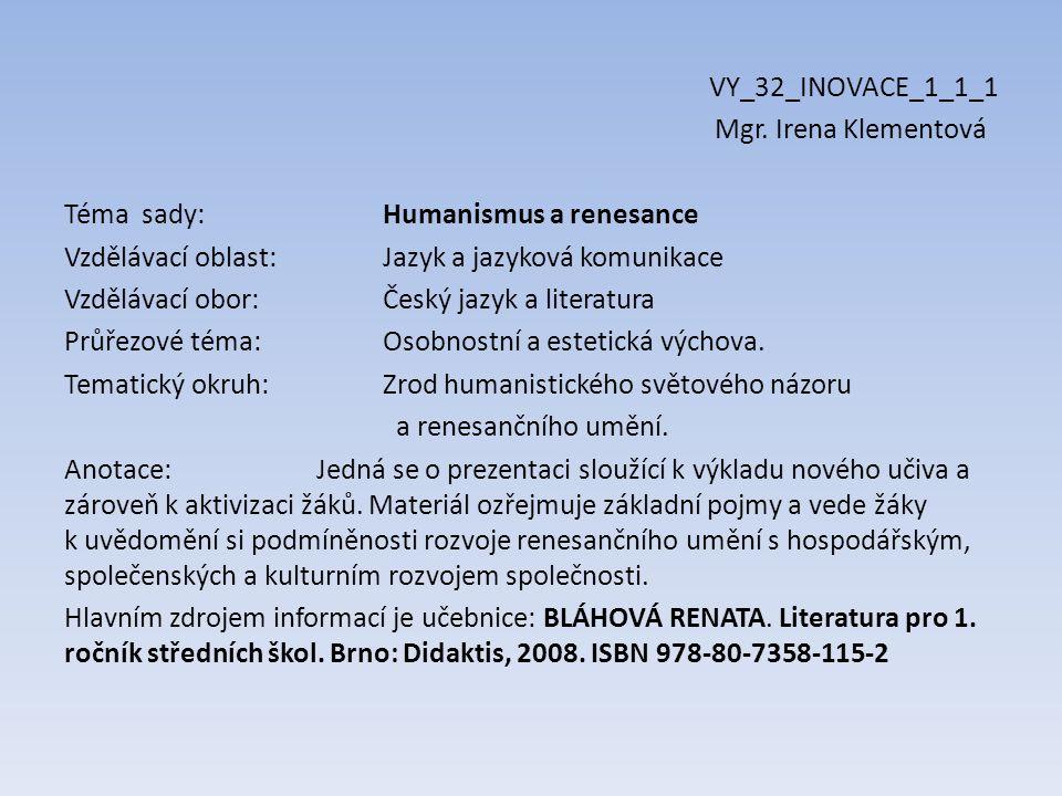 VY_32_INOVACE_1_1_1 Mgr.