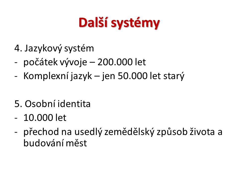 Další systémy 4.