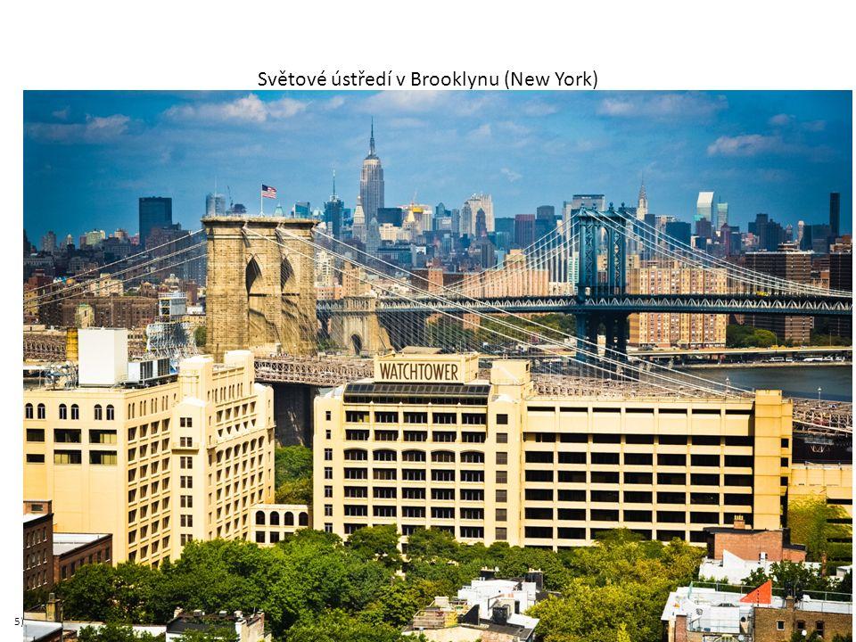Světové ústředí v Brooklynu (New York) 5)