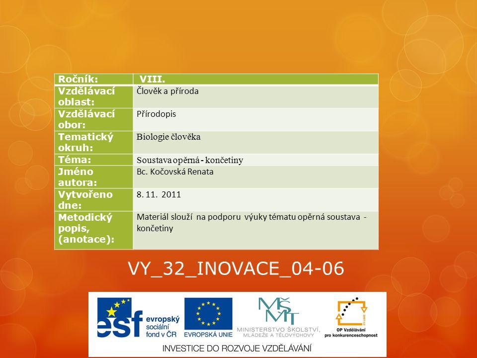 VY_32_INOVACE_04-06 Ročník: VIII.