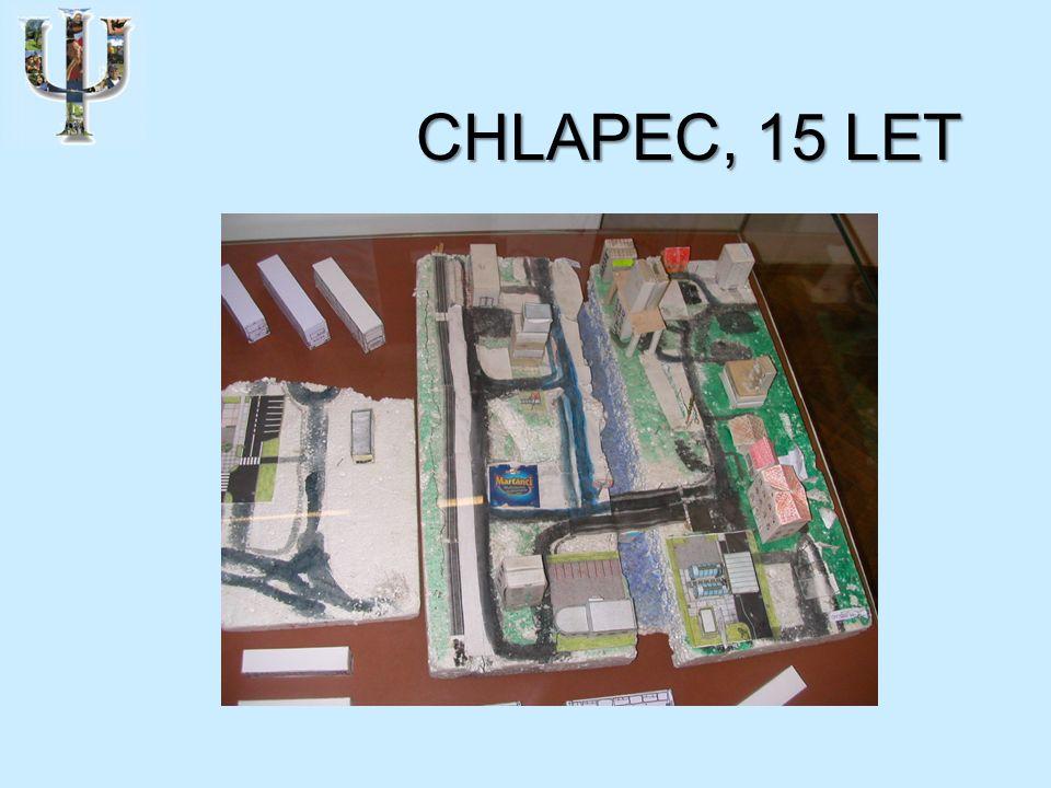 CHLAPEC, 15 LET