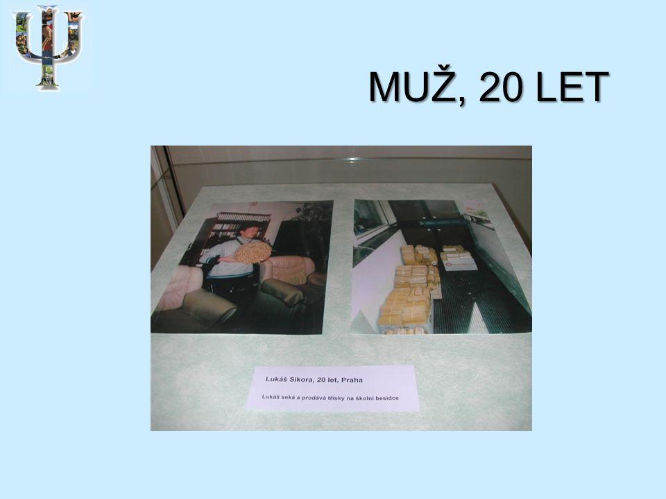 MUŽ, 20 LET