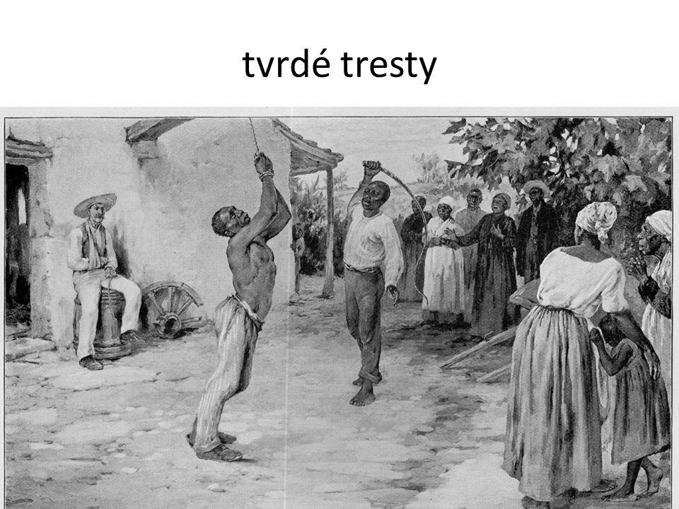 tvrdé tresty 10