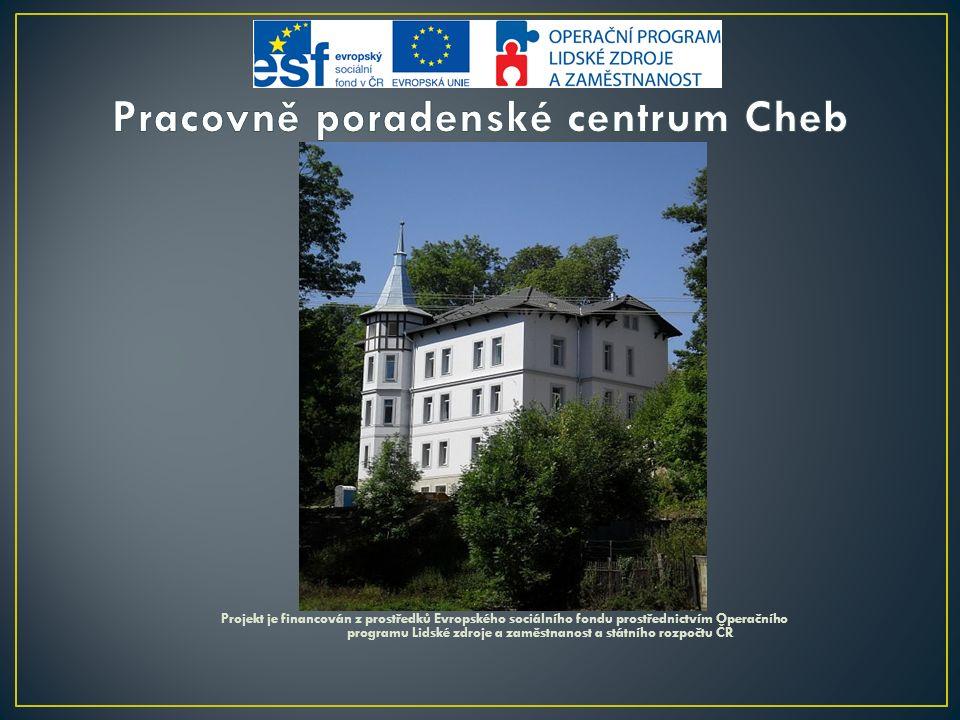 Projekt je financován z prostředků Evropského sociálního fondu prostřednictvím Operačního programu Lidské zdroje a zaměstnanost a státního rozpočtu ČR