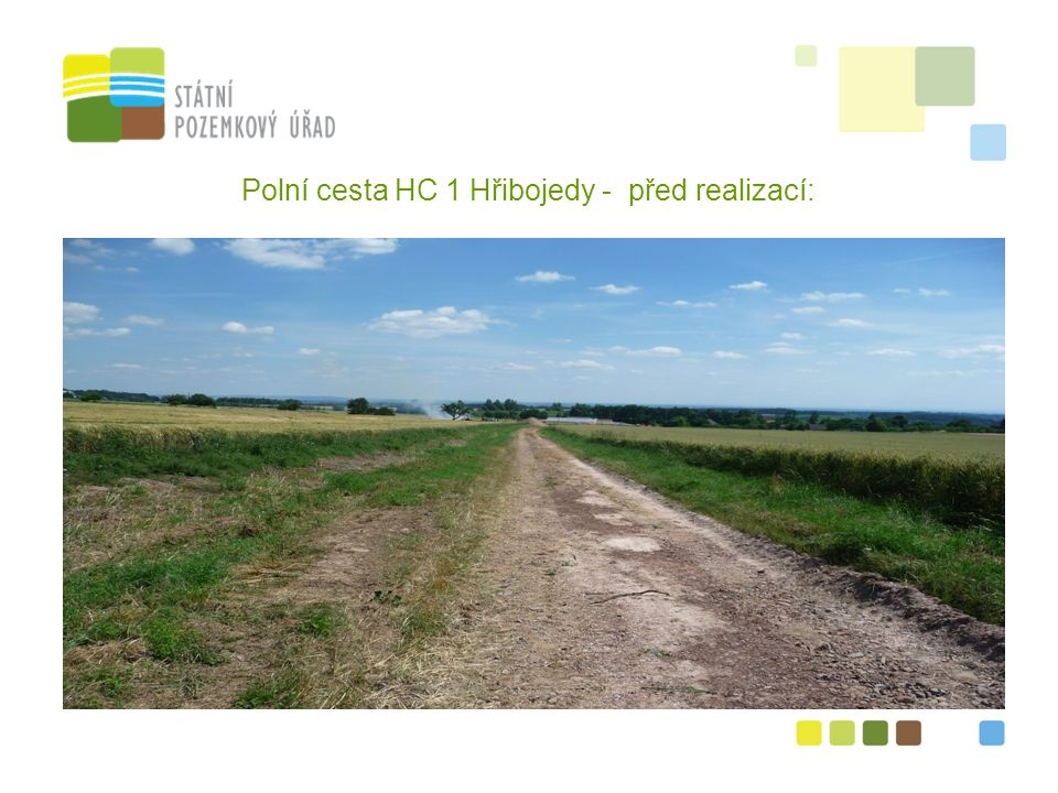 6 Polní cesta HC 1 Hřibojedy - před realizací: