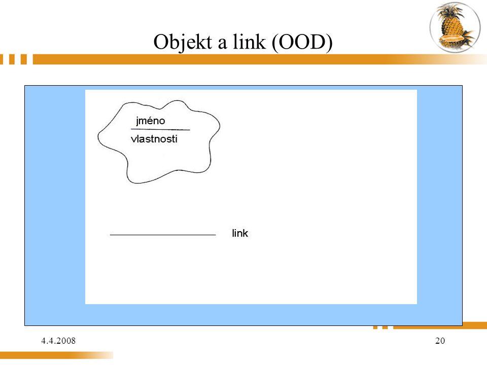 4.4.2008 20 Objekt a link (OOD)