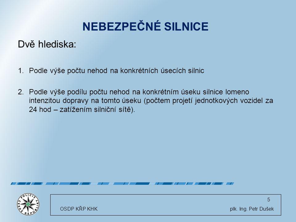 OSDP KŘP KHK plk. Ing.