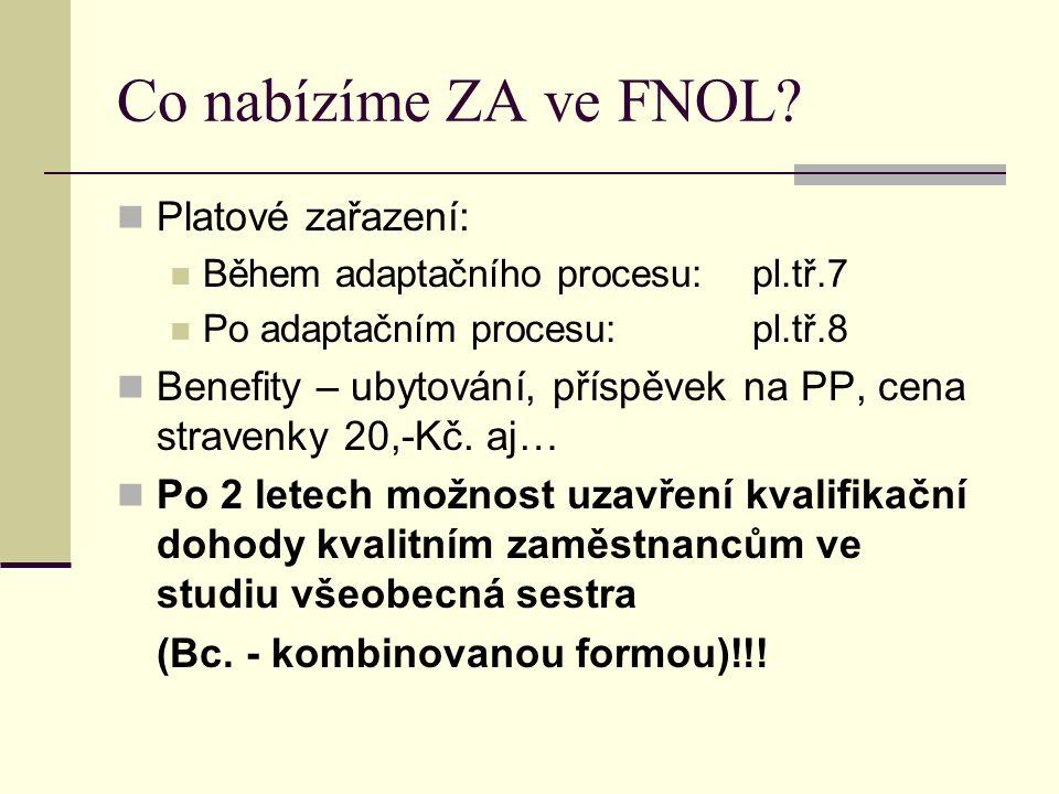 Co nabízíme ZA ve FNOL.