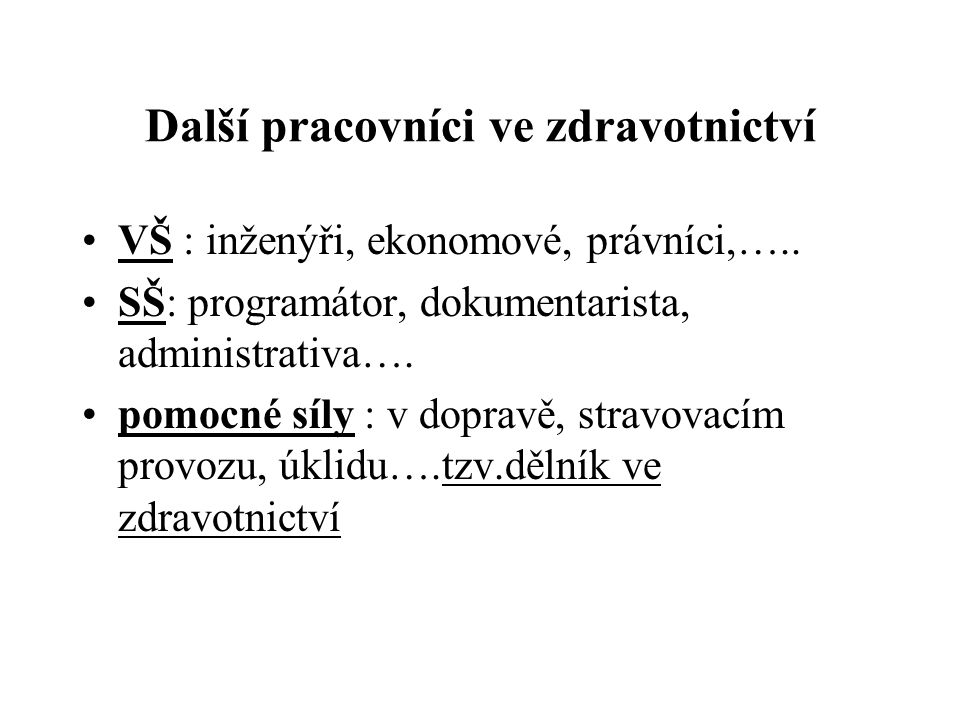 Specializační vzdělávání lékařů způsob financování MZ ČR stanoví do 31.12.