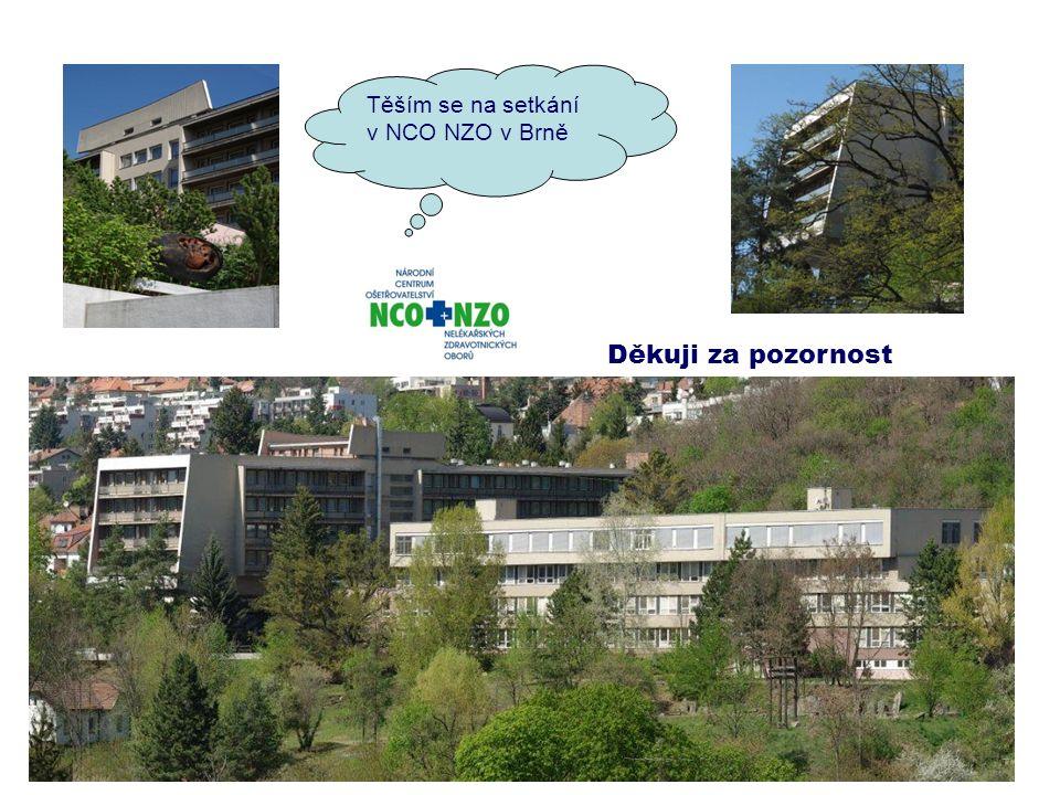 Děkuji za pozornost Těším se na setkání v NCO NZO v Brně