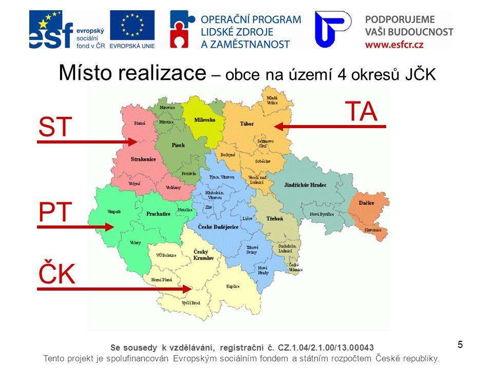 5 Se sousedy k vzdělávání, registrační č.