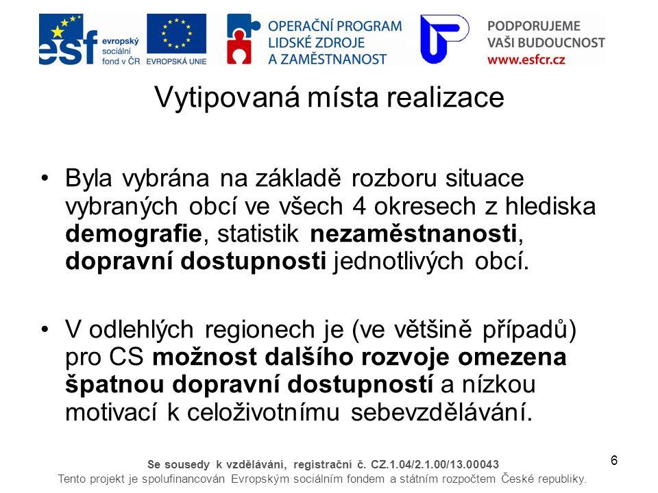 7 Se sousedy k vzdělávání, registrační č.
