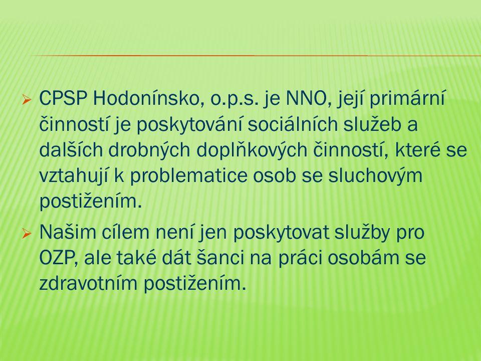  CPSP Hodonínsko, o.p.s.
