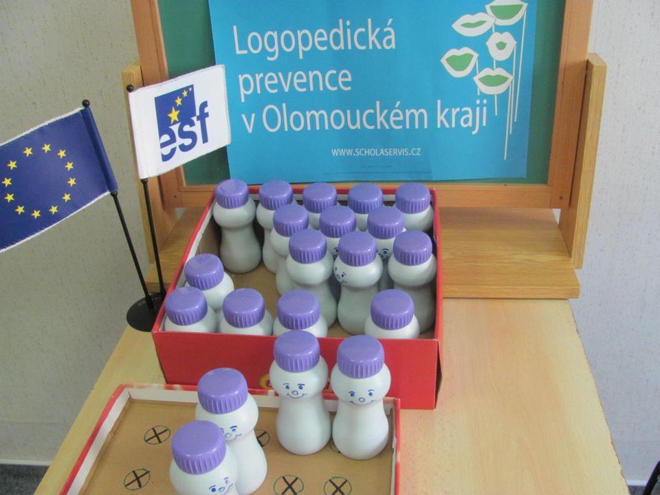 Logopedická prevence v Olomouckém kraji Proškolení pedagogických pracovníků MŠ a 1.stupně ZŠ – logopedičtí asistenti -Akreditované studium – 60 hodin,