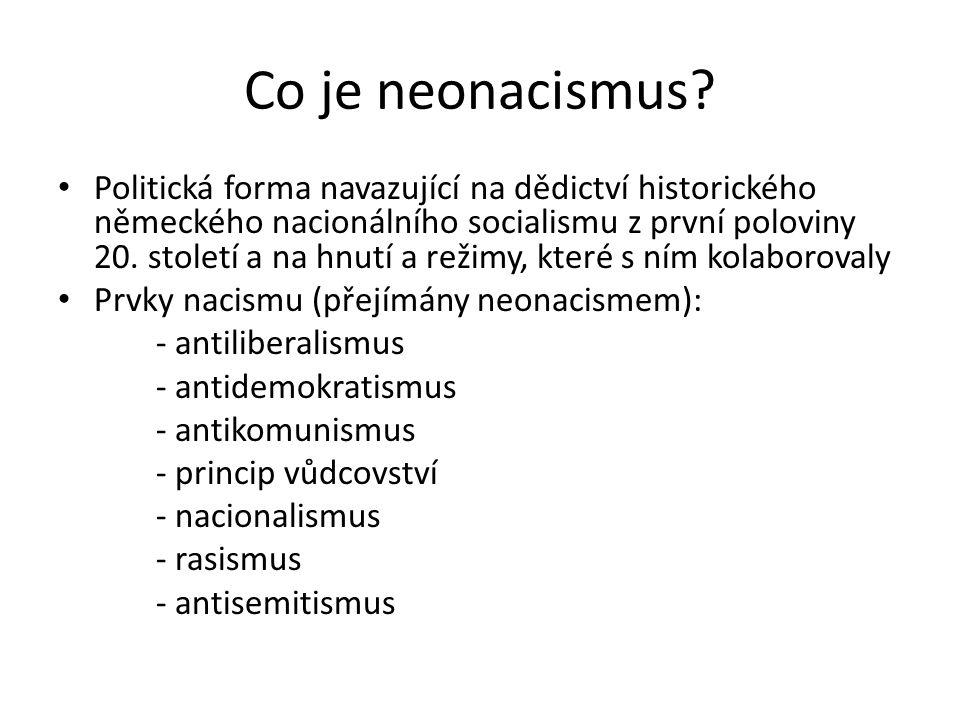 Co je neonacismus.