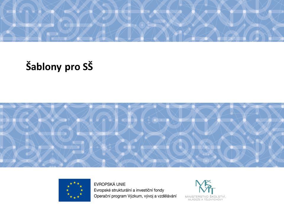 Název kapitoly Název podkapitoly Text Cíl výzvy Cílem výzvy je podpořit střední školy formou projektů zjednodušeného financování (šablon).