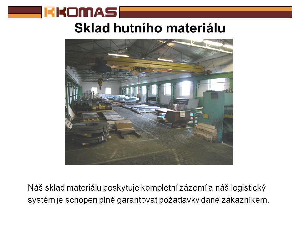 Staré výrobní prostory K dispozici máme také starší výrobní prostory, kde mohou být případně přesunuty další výrobní zařízení. To je možné na základě