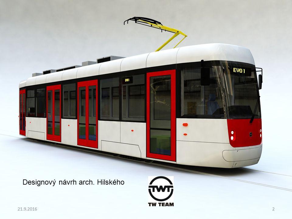 Projekt EVO1 Postup realizace projektu Snímky ze stavby tramvaje EVO1 v DP Praha: 21.9.201613