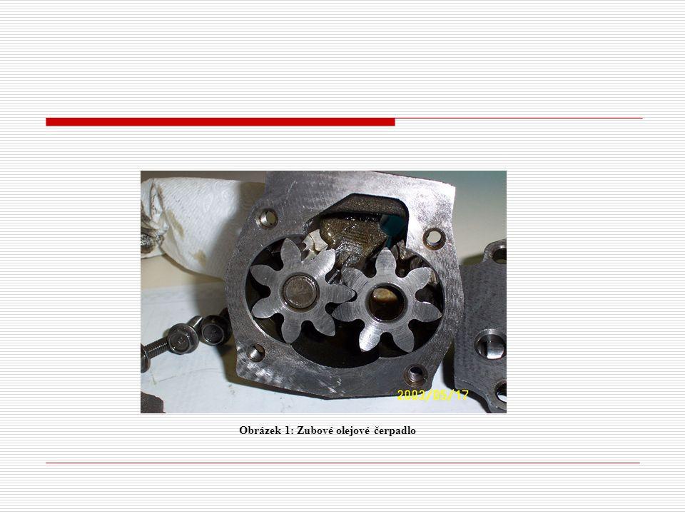 Obrázek 1: Zubové olejové čerpadlo
