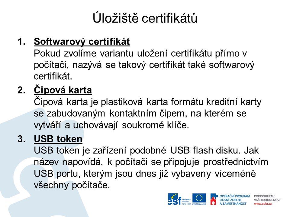 Poskytovatel certifikačních služeb Česká pošta, s.p.