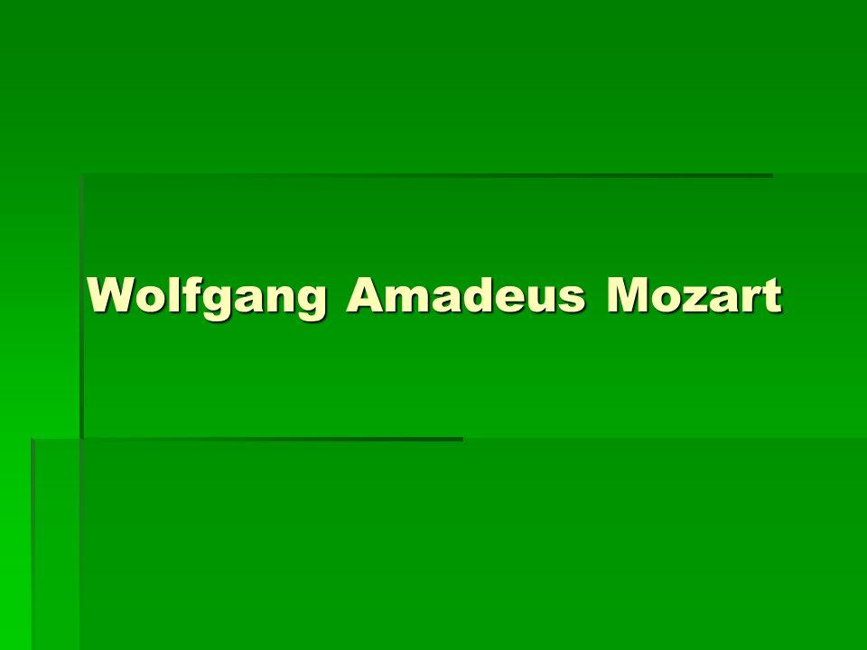  Tento materiál přibližuje žákům osobnost hudebního skladatele Wolfganga Amadea Mozarta.