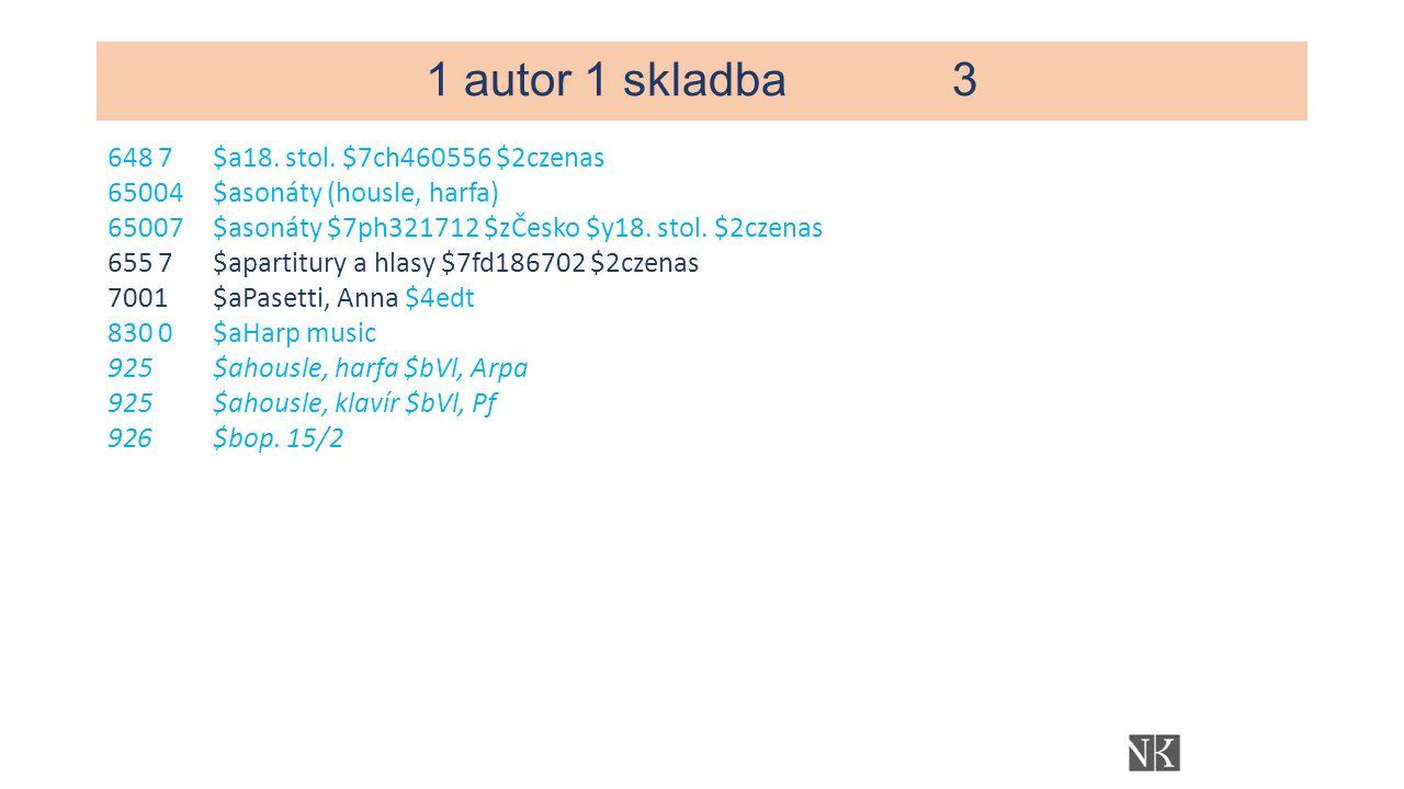 1 autor 1 skladba3 648 7$a18. stol.