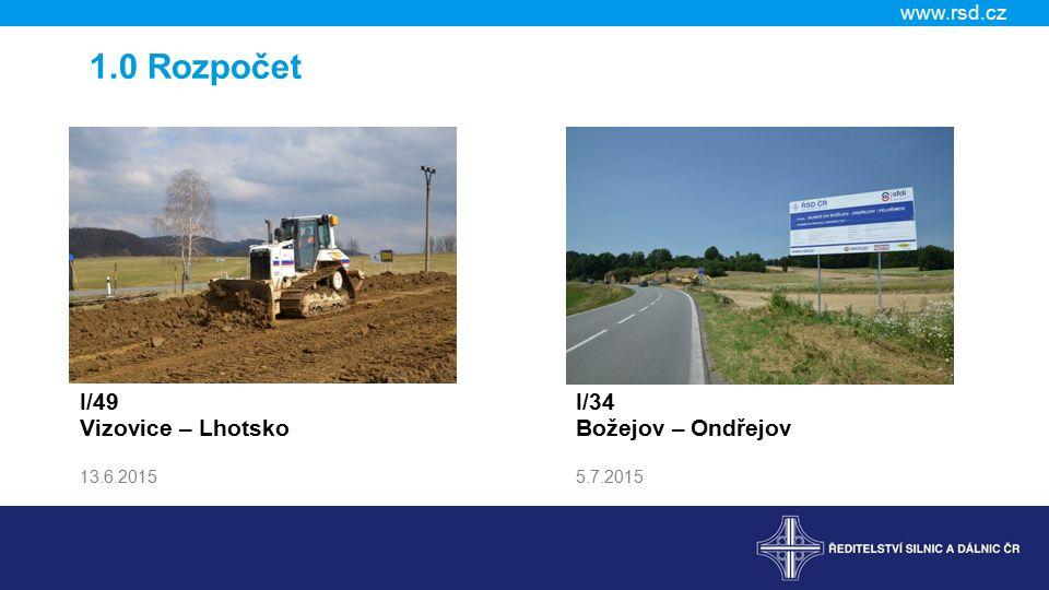 www.rsd.cz 3.2 Stavby zahájené v roce 2015 – Čechy Název Stavební náklady ( tis.