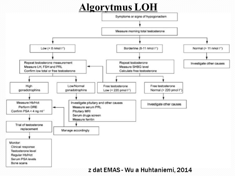 Algorytmus LOH z dat EMAS - Wu a Huhtaniemi, 2014