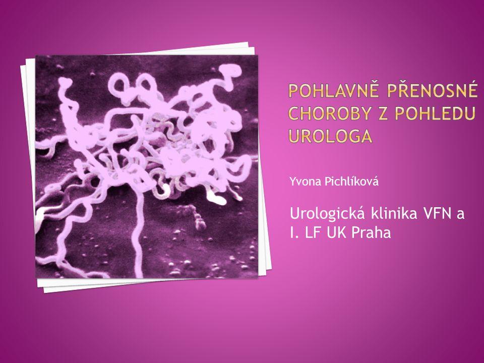 Yvona Pichlíková Urologická klinika VFN a I. LF UK Praha