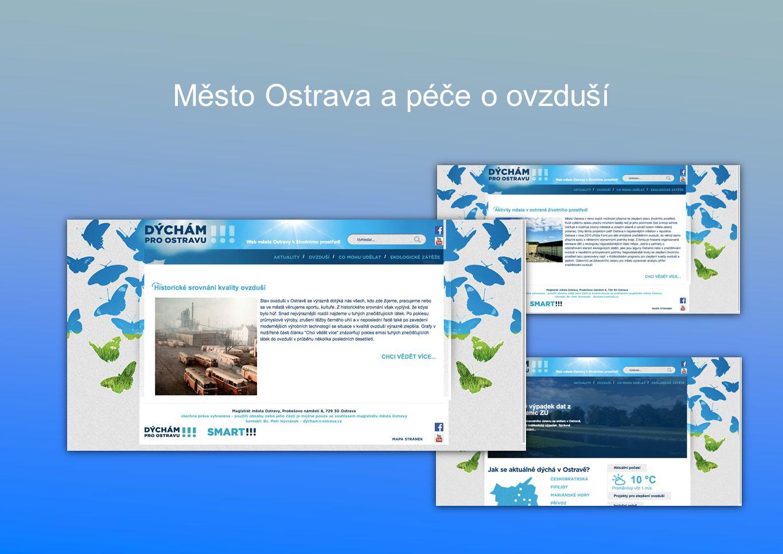 Město Ostrava a péče o ovzduší