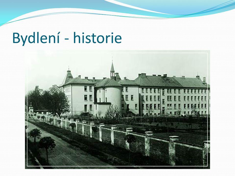 Bydlení - historie