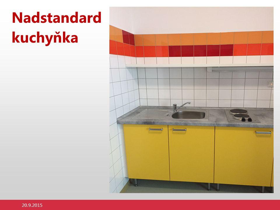 Nadstandard kuchyňka 20.9.2015