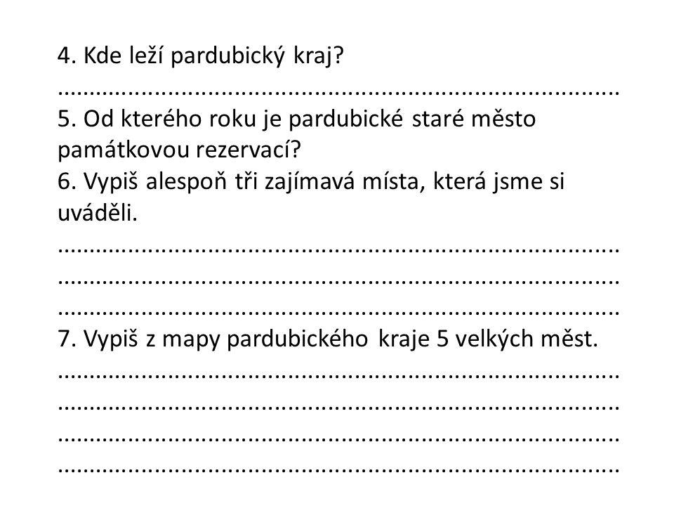 Použité zdroje TOMÁŠ URBAN.Pardubice Region CoA [online].