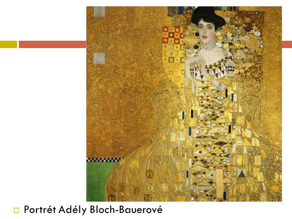  Portrét Adély Bloch-Bauerové