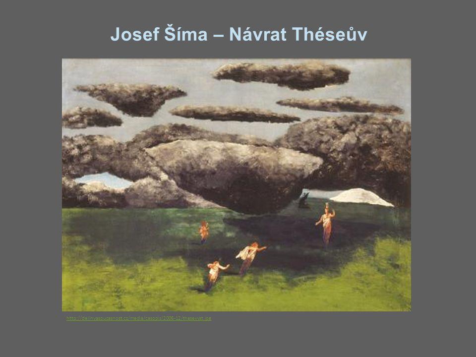 Josef Šíma – Návrat Théseův http://dejinyasoucasnost.cz/media/casopis/2006-12/thesevyst.jpg