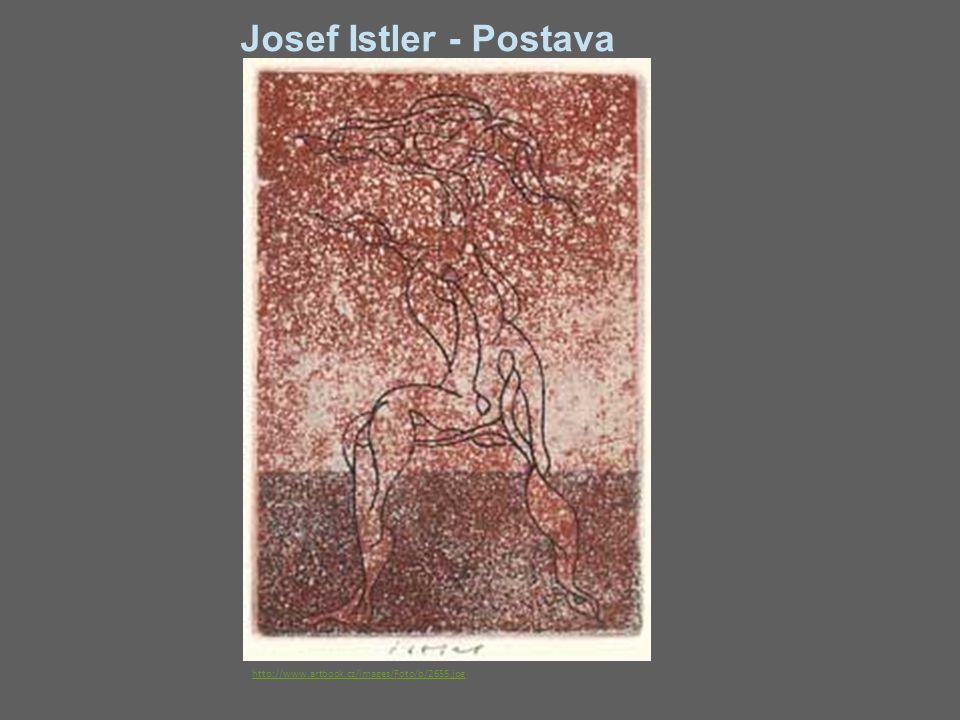 Josef Istler - Postava http://www.artbook.cz/images/Foto/b/2655.jpg