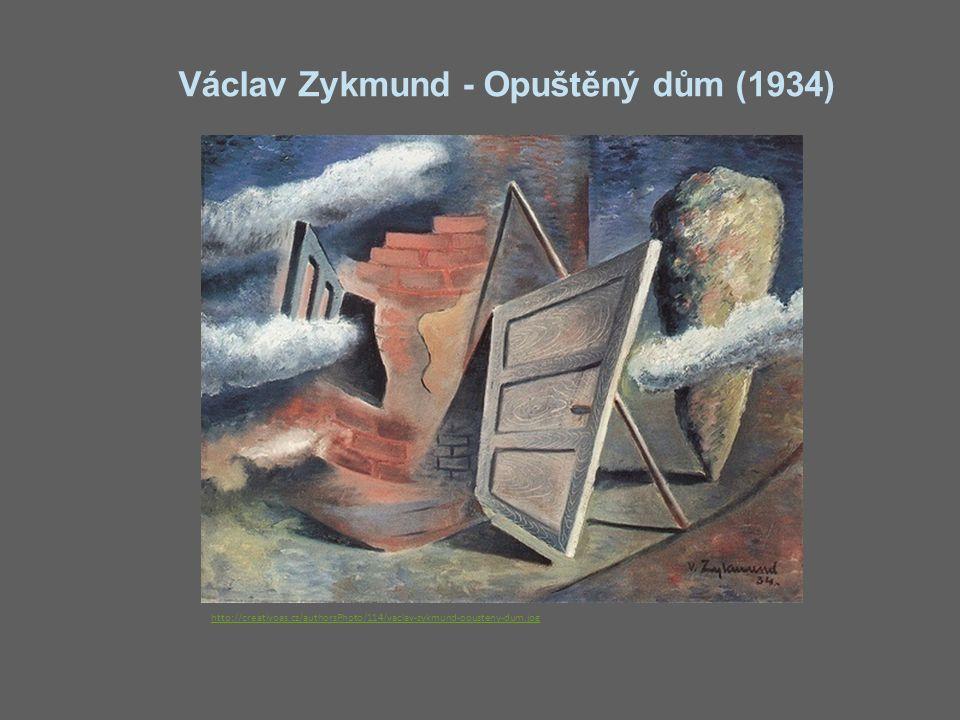 Václav Zykmund - Opuštěný dům (1934) http://creativoas.cz/authorsPhoto/114/vaclav-zykmund-opusteny-dum.jpg