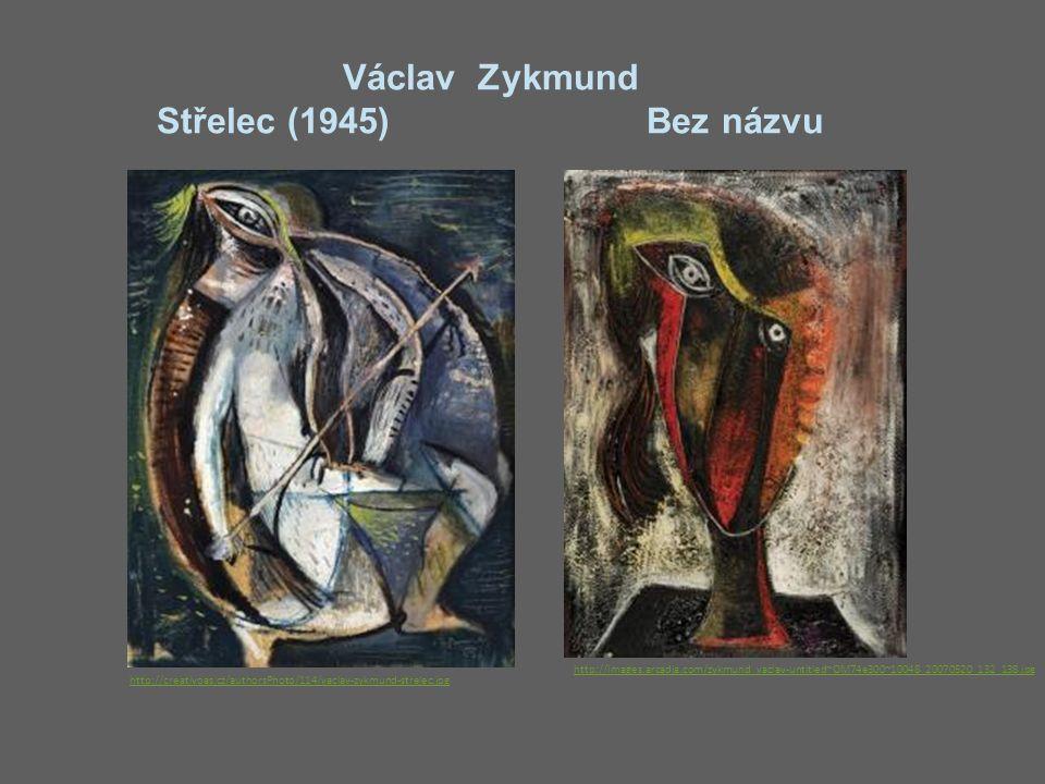Václav Zykmund Střelec (1945) Bez názvu http://creativoas.cz/authorsPhoto/114/vaclav-zykmund-strelec.jpg http://images.arcadja.com/zykmund_vaclav-untitled~OM74e300~10048_20070520_132_138.jpg