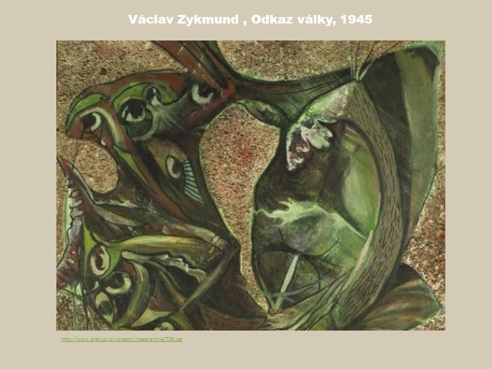 Václav Zykmund, Odkaz války, 1945 http://www.artplus.cz/uploads/image/article/706.jpg
