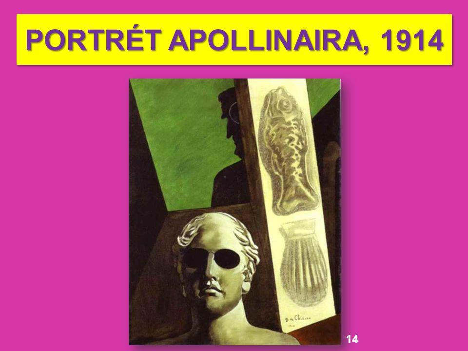 PORTRÉT APOLLINAIRA, 1914 14